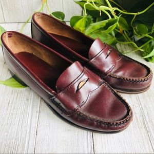 Dexter Vintage Leather Penny Loafers Made In USA